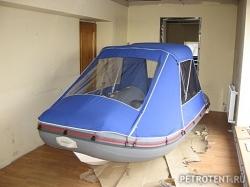 Ходовой тент на Sky boat 360 эконом
