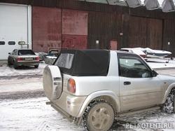 Тент для пикапа Toyota RAV 4