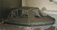 Ходовой тент на надувную лодку Sky boat 440 RL