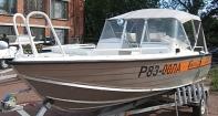 Ходовой тент Well boat 51C