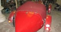 Тент для кабриолета на коллекционный автомобиль Bugatti