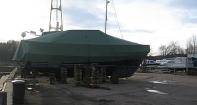 Транспортировочный тент на моторную яхту Hardi 50