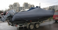 Транспортировочный тент на надувную лодку Гардемарин 700