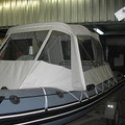 Ходовой тент на надувную лодку Буревестник 530