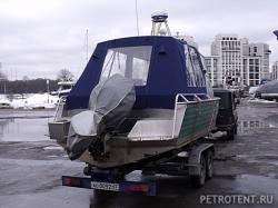 Ходовой тент Well boat 69