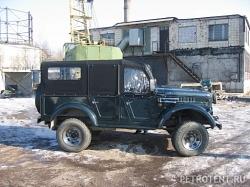 Тент на ГАЗ 69