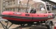 Ходовой тент на надувную лодку Буревестник 430