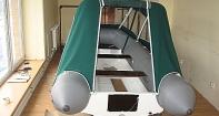 Ходовой тент на надувную лодку Sky boat 360