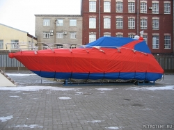 Транспортировочный тент на яхту Atlantis 42