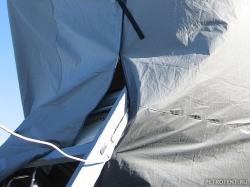Транспортировочный тент на яхту парусную